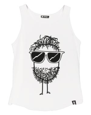 Bílé tílko Beard